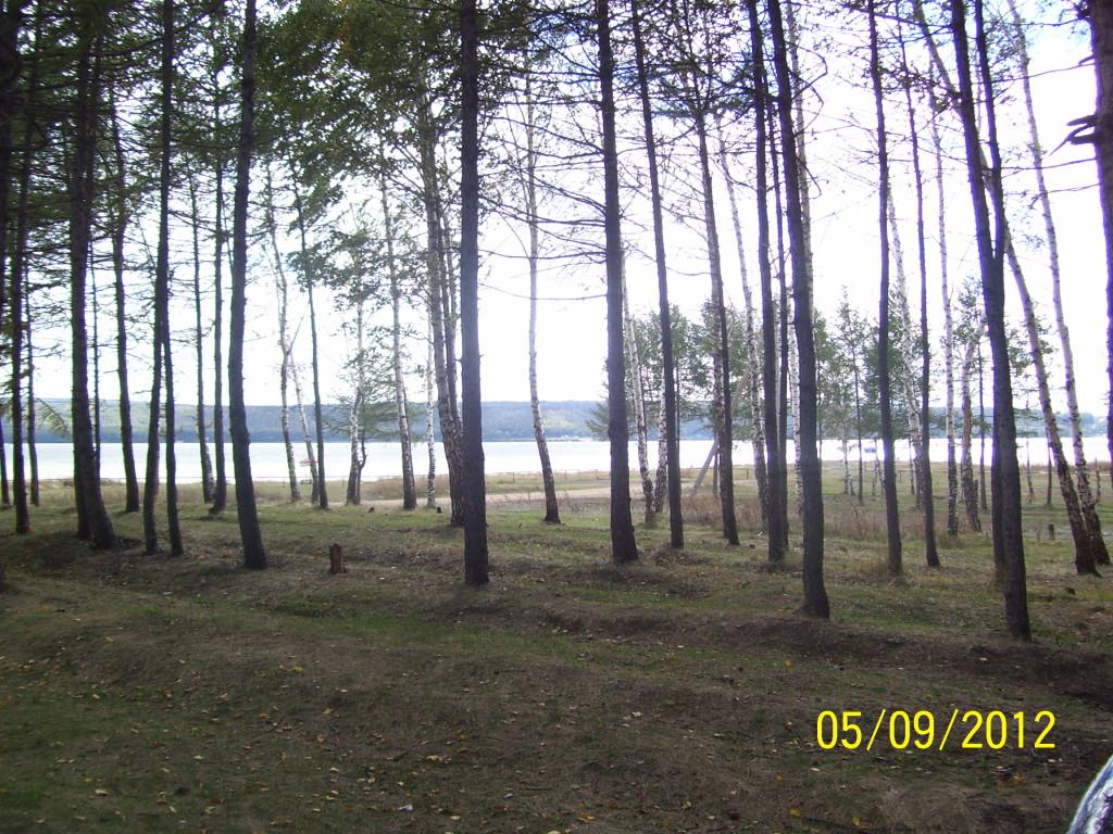 На озере Кандры-Куль в сентябре пустынно