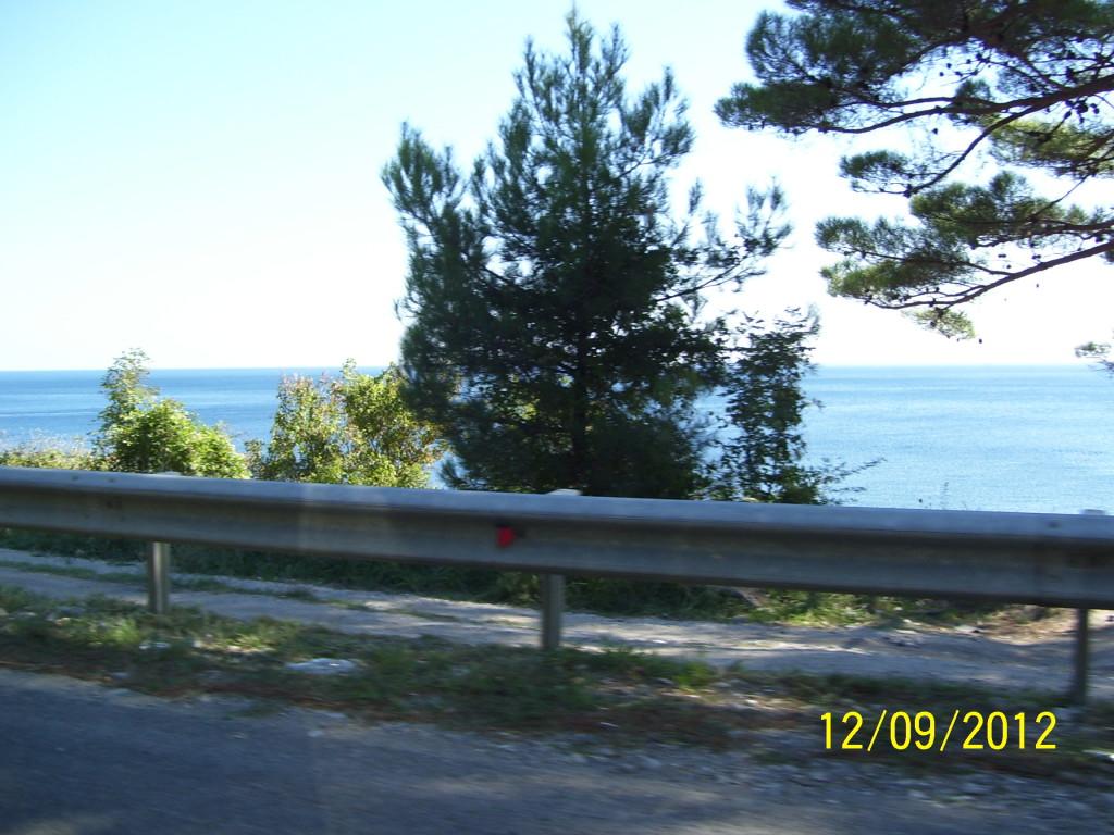 Море в Джубге