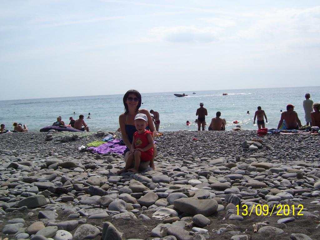 Пляж санатория Лазаревский