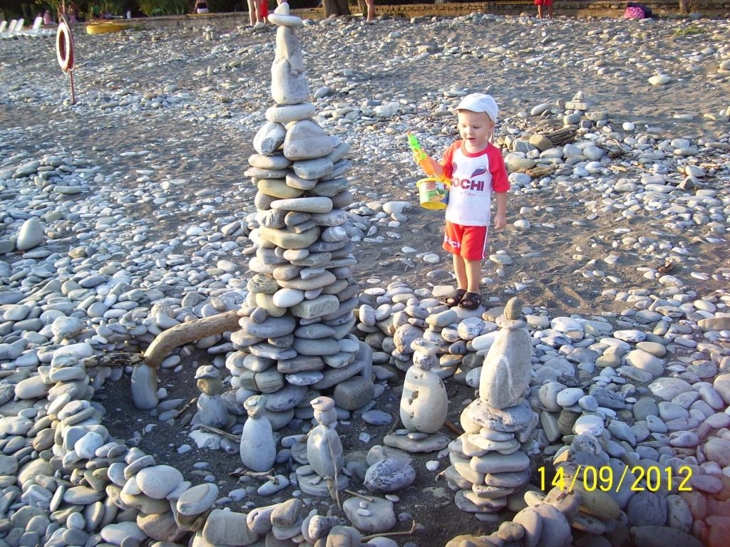 Замки из камней