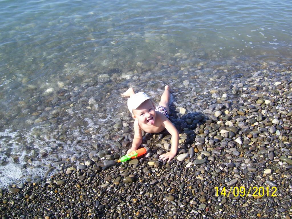 Морской берег в сентябре