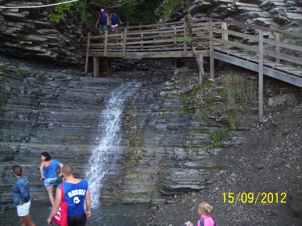 водопад шахе
