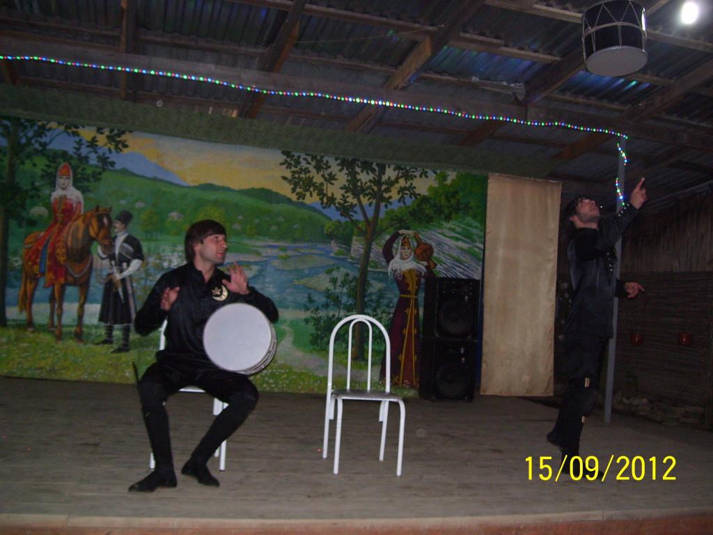 горцы барабаны