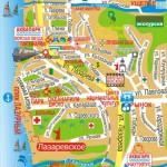 Карта Лазаревского