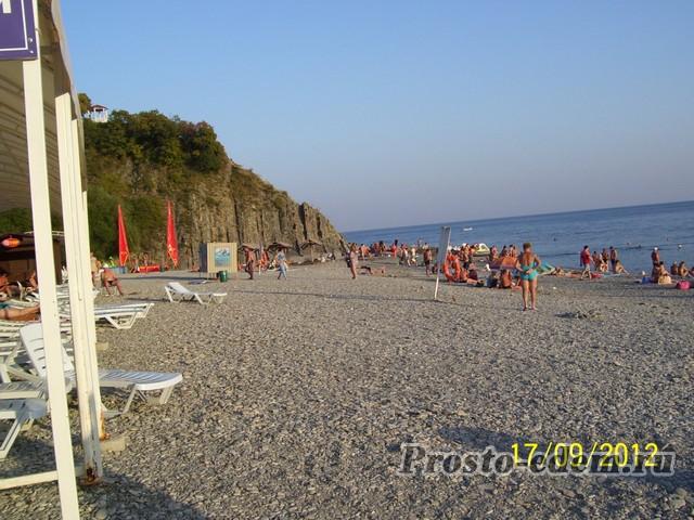 пляж криницы