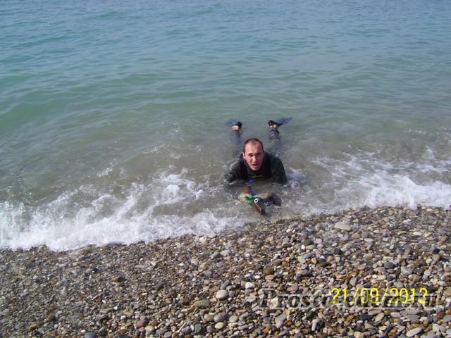 подводная охота в шепси