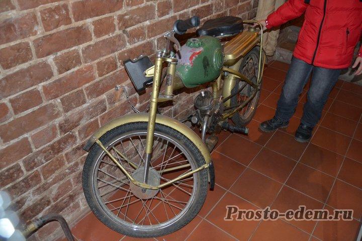 Советский мопед... или мотоцикл, не знаю))