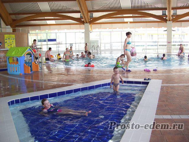 детский бассейн в абзаково