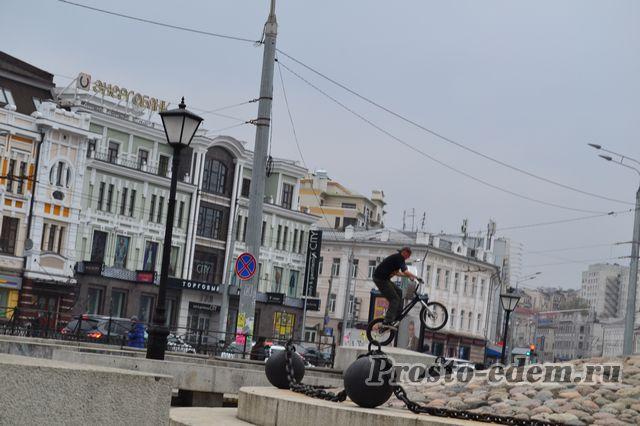 Велосипедисты в Казани