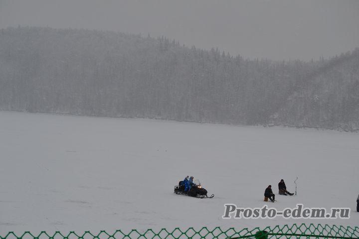 снегоходы и рыбалка на павловке