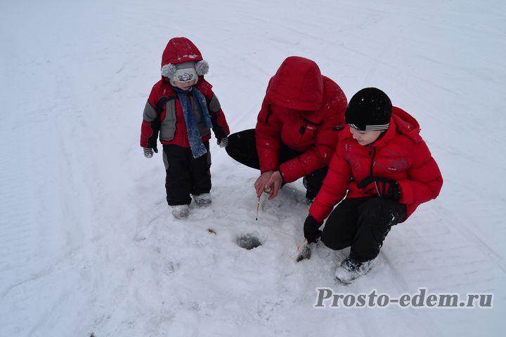 зимняя рыбалка на павловке