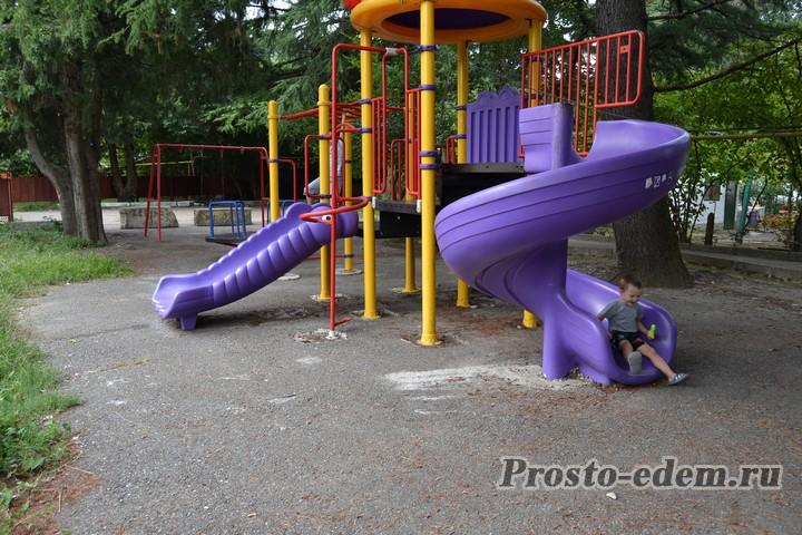 детская площадка в Головинке