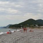 дикий пляж Головинки