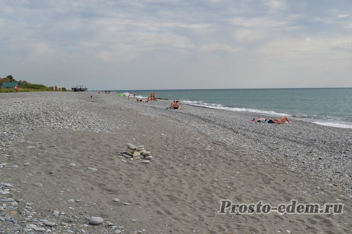 Широкие пляжи Головинки