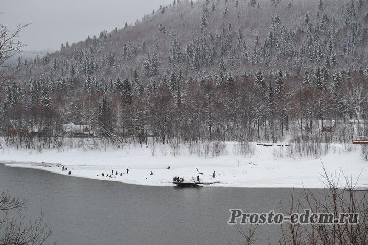 зима на Павловке