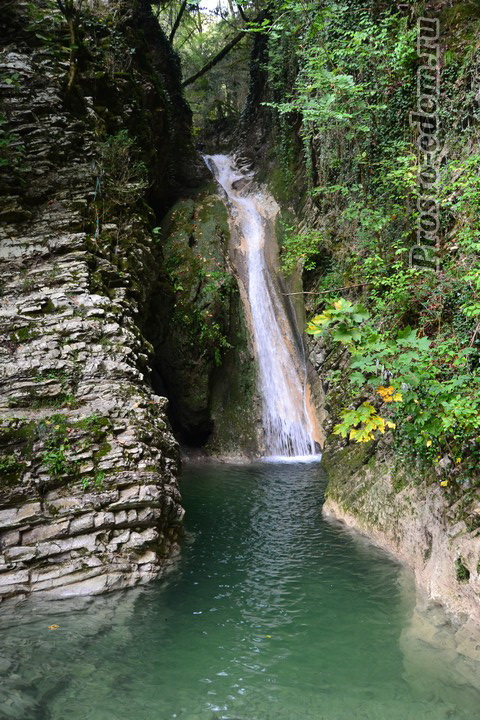 Водопад Ласковый