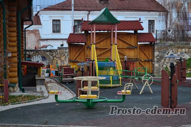Детская площадка в туган авылым