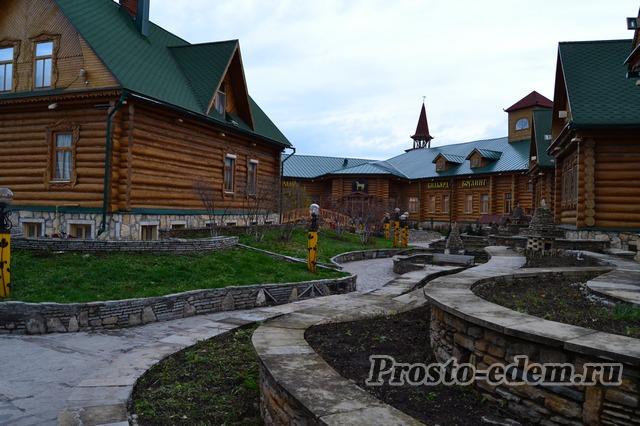 В Татарской деревне