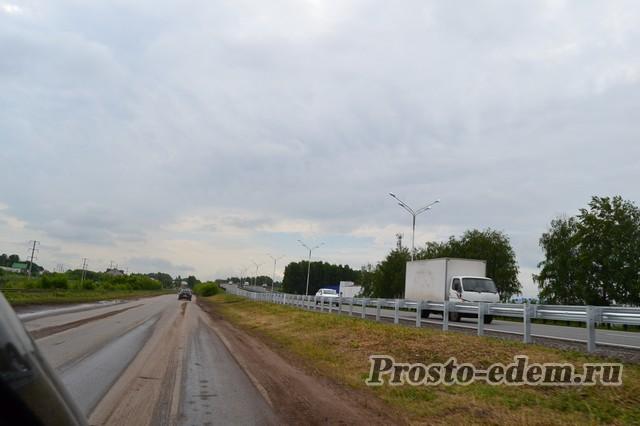 дорога в Мокроусово