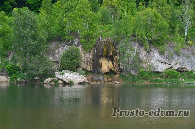 абзановский водопад