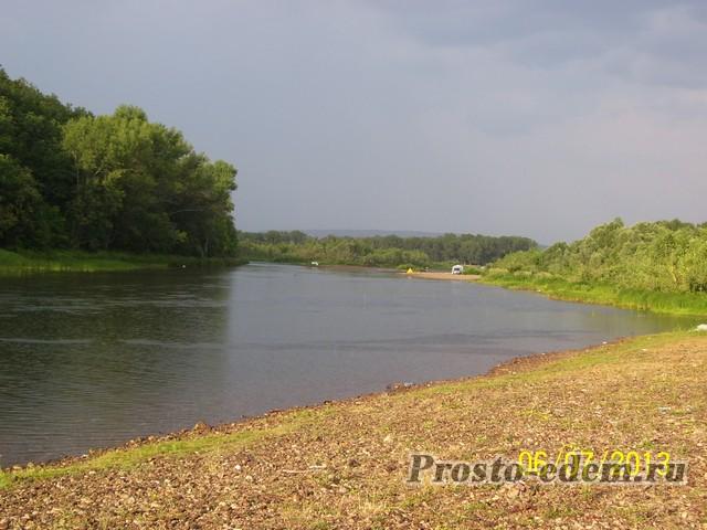 Инзер после дождя