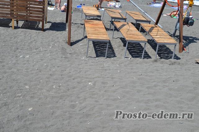 Пляж отеля Мандарин