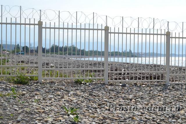Граница Абхазии и России