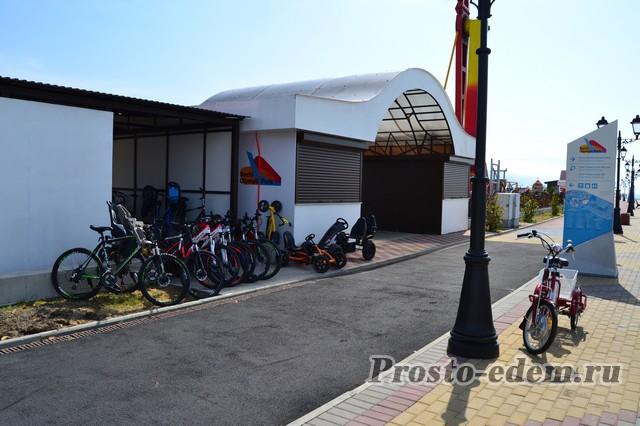 Велопрокат на Олимпийской Набережной