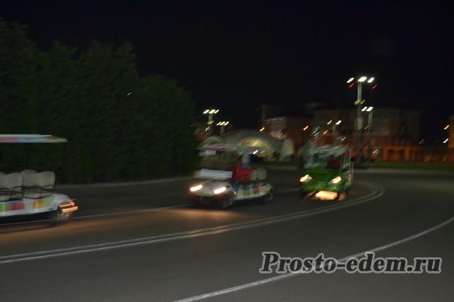 Автокары в Олимпийском парке