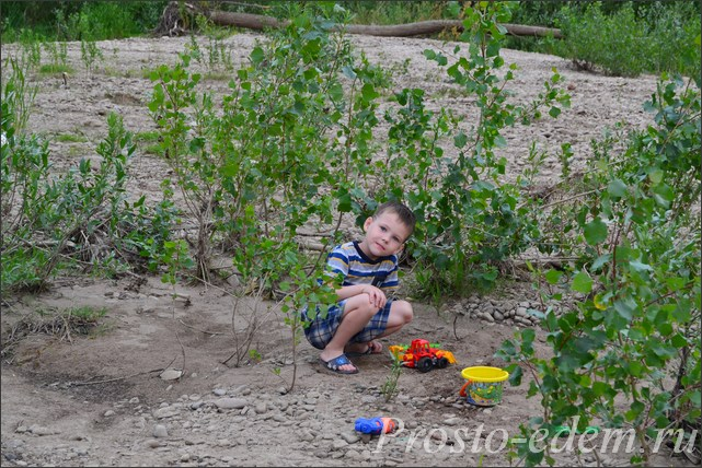Песок на Инзере