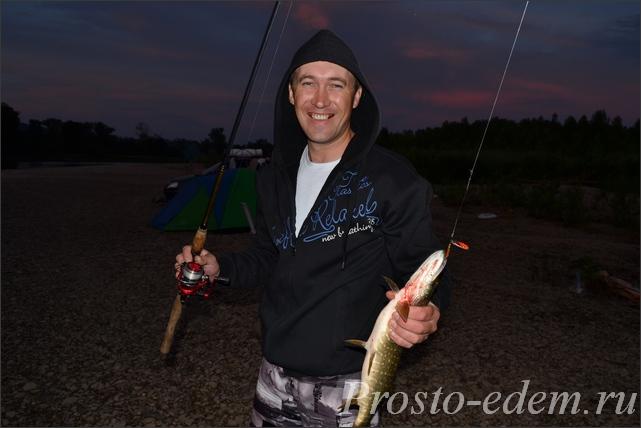 рыбалка на щуку на Инзере