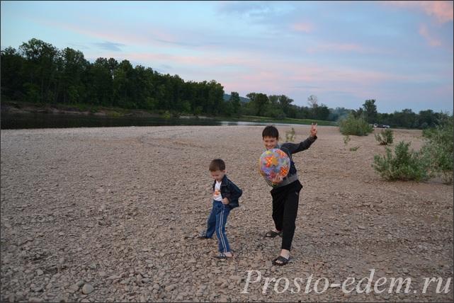 дети на Инзере