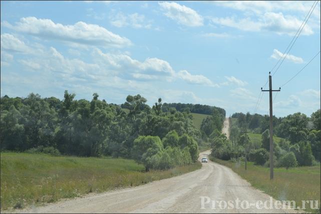 Дорога в Кузнецовку