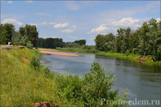 Отдых на реке в Башкирии