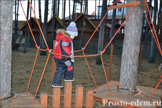 Детский веревочный парк в Уфе