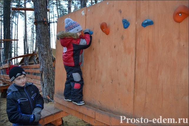 Детский веревочный парк гамми