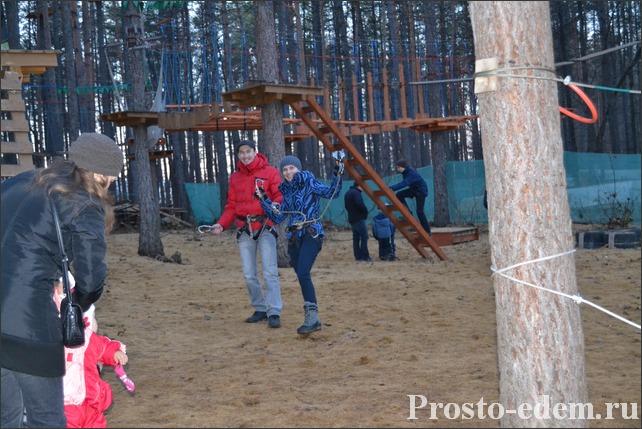 Олимпик-Парк веревочный Парк