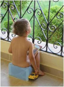 Детский дорожный горшок Конвертик