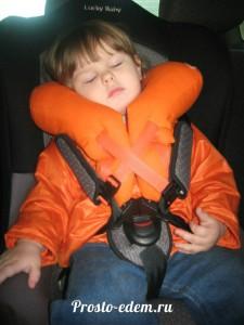 Подушка путешественница для ребенка в машину