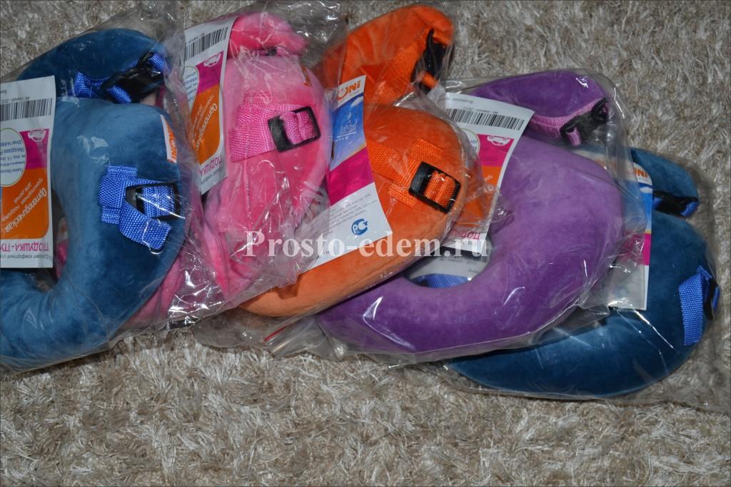 Детские подушки для путешествий купить