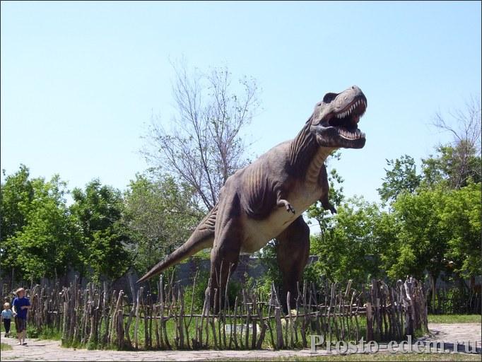 динопарк динозаврик в Магнитогорске