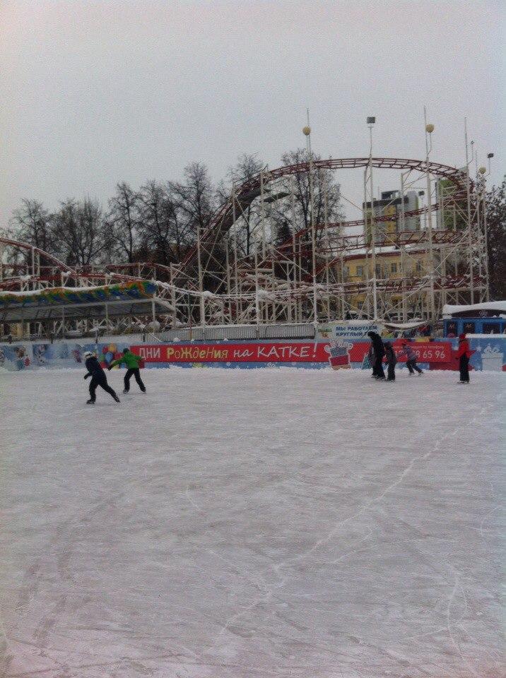 Каток в Парке имени Якутова