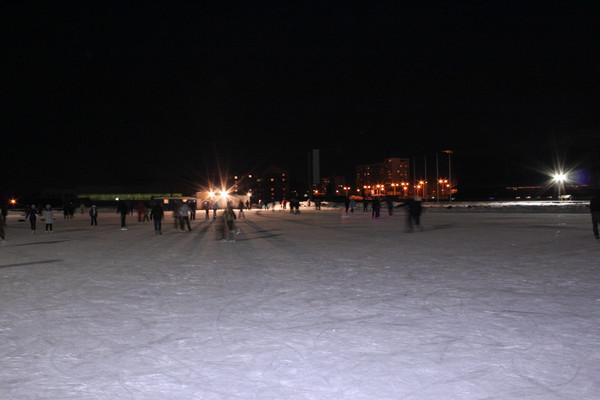 Каток на ипподроме Акбузат