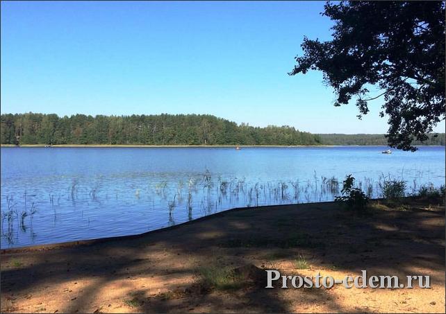 Озеро на базе алалоль