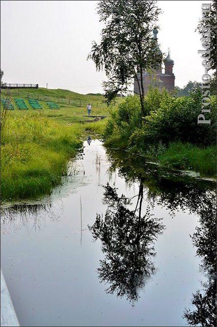 Где берет исток Волга