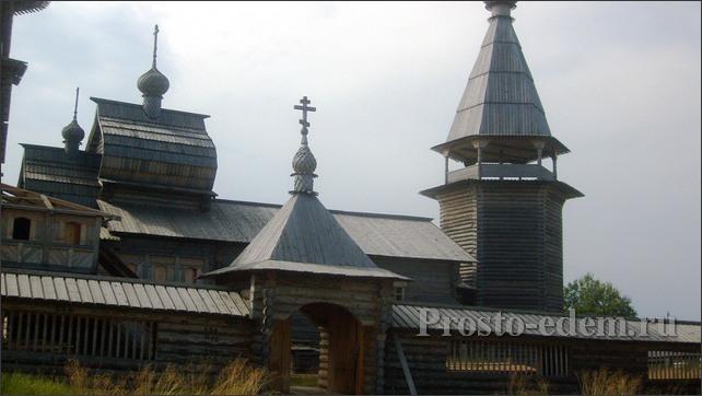 Деревня Филипповская в Кенозерском нацпарке