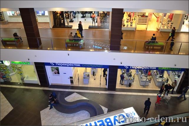 Супермаркет Перекресток в Горки город