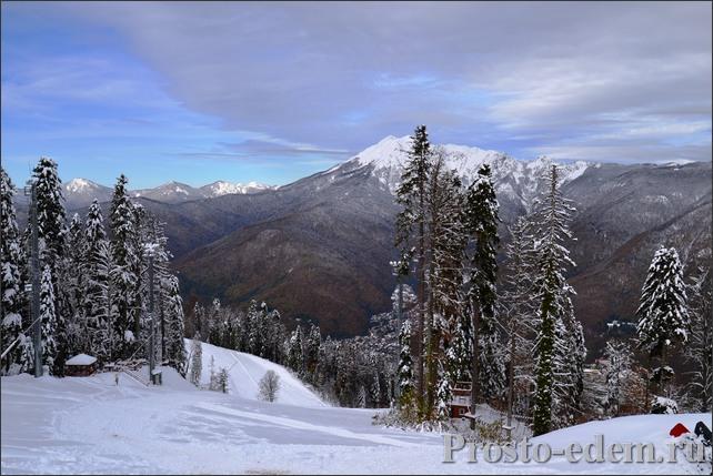 Снег в Сочи