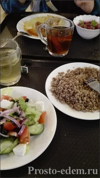 Еда в столовой Южная