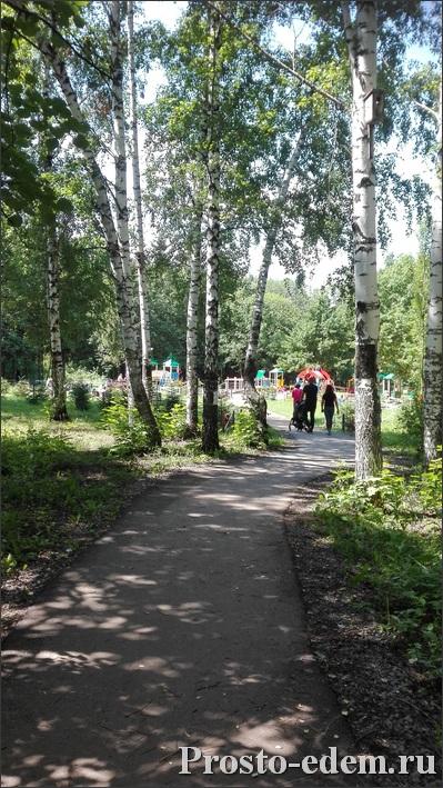 где находится детская площадка в Парке Лесоводов